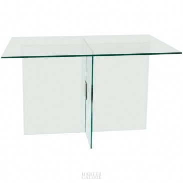 Fontana Arte Table,Glass and Brass, circa 1970 Italy