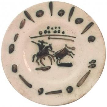Pablo Picasso,Picador, édition poinçonnée et marquée Picasso et Madoura, Céramique.