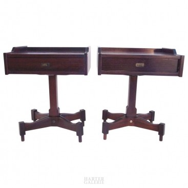 Sallochi Claudio, Pair of Bedside Tables, Sir and Madam, SC50 Model, 1962