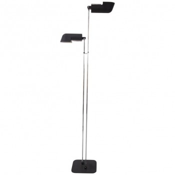 Corrado and Luigi Aroldi Floor Lamp for Luci, Metal, circa 1970, Italy