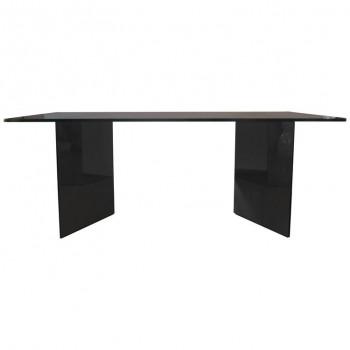 Giuseppe Raimondi, grande table de salle à manger, Crystal Art, 1970