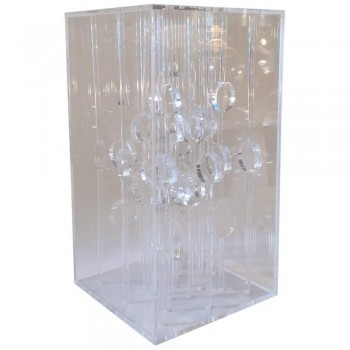 Martha S. Boto, Sculpture Collone a, Plexiglass, circa 1968, Italy