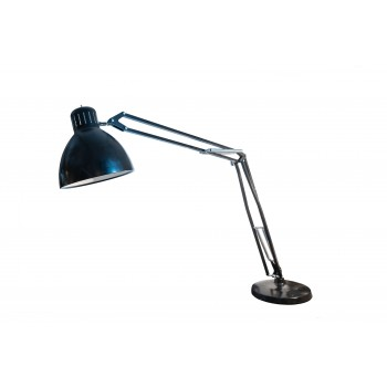 Important adjustable floor lamp, lacquered metal, circa 2000, France