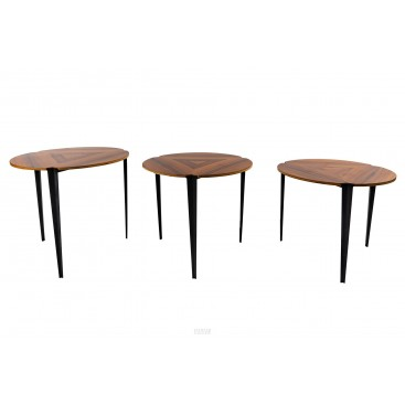 Osvaldo Borsani, Nesting Tables, Tecno Edition, T61E Model, circa 1970