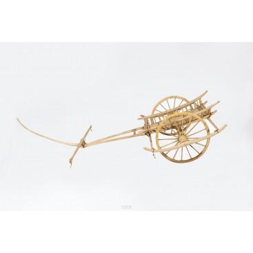 Mini Model of Charette, Wood, South China, circa 1890