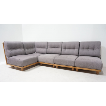 Guillerme et Chambron, Sectionals Sofa, Edition Votre Maison, circa 1970, France