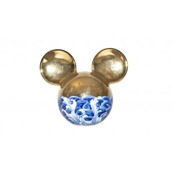 Li Lihong, Golden Mickey Mouse, Sculpture, circa 2010, China