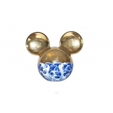 Li Lihong, Golden Mickey Mouse, Sculpture, circa 2010, China