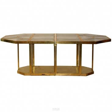 Gabriella Crespi Puzzle Table, Impressed with Facsimile Signature