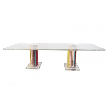 Jean-Claude Farhi, Coffee Table, Unique Piece, Signed, circa 1980