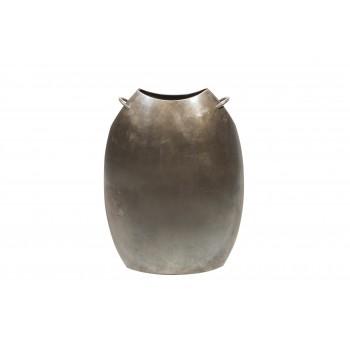 Lino Sabattini, Vase, Silvered Metal, Italy, circa 1960
