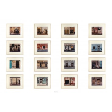 Sean Scully, Merida, Series of 16 photographs, Signed, 2001