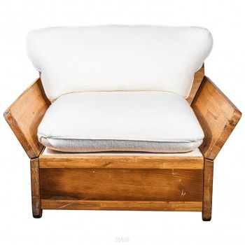 Kinga & Andreas Dozsa Farkas, Armchair, circa 1977, Greece