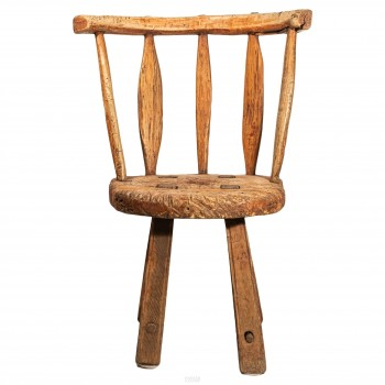 Chair, Natural Wood, Sweden, 18th Century