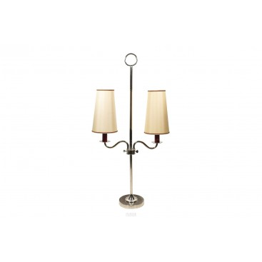 Pair of Table Lamps with Two Lights, France, circa 1970