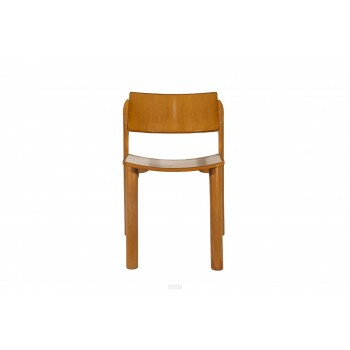 Set of Four Chairs, Wood, France, circa 1960