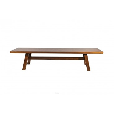 Giovanni Michelucci, Pair of Benches, Signed, circa 1955, Italy