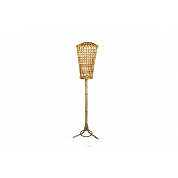 Franco Albini, Floor Lamp, Bamboo, Italy, circa 1960