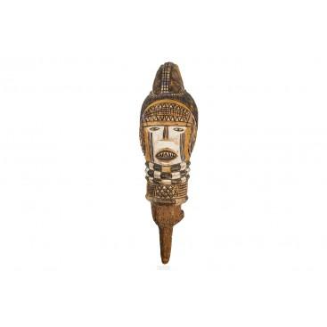 Kuyu Puppet Head, Congo, Early 20th Century