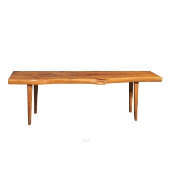 In the Style of Nakashima, Brutalist Coffee Table, France, circa 1960