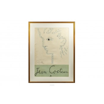 Jean Cocteau (1889-1963), Importante Lithography, France, 1947