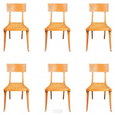 """""""Kerylos"""", in the Style of Emmanuel Pontremoli, Six Chairs, France, circa 1970"""