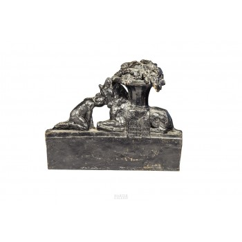 Max Blondat (1872-1926), Bronze Sculpture, France, circa 2000