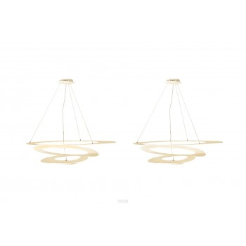 Giuseppe Maurizio for Artemide, Pair of Pendant Lights, Italy