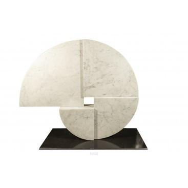 Angelo Mangiarotti (1921-2012), Marble Sculpture, Italy, circa 1960
