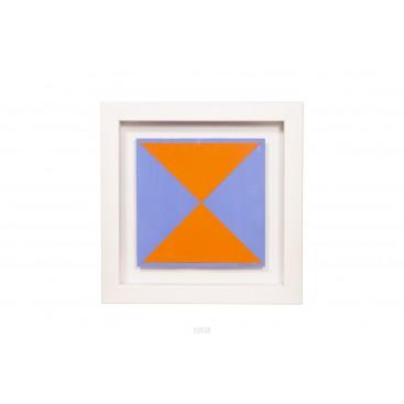 Albert Chubac, Gouache Painting, circa 1980, France