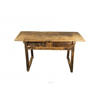 Brutalist Table, Spain, Late 18th Century