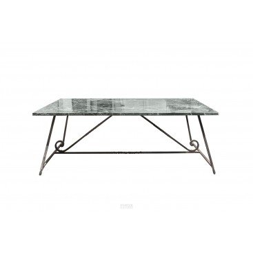 In the Style of Poillerat, Dining Table, circa 1940, France