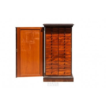 Collector's Cabinet, Rosewood, circa 1880, England