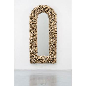 "Barnaby Barford, ""Pride"" Mirror, Ceramic, 2012, England."