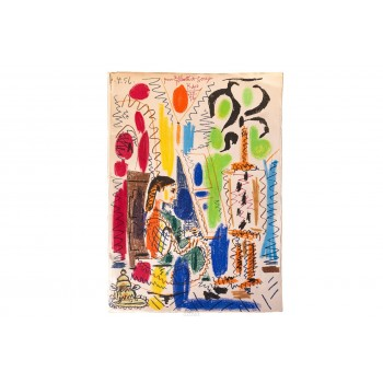 Pablo Picasso, Lithograph, 1958, France