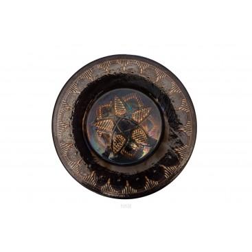 Large round dish, Terracotta, circa 1960, France