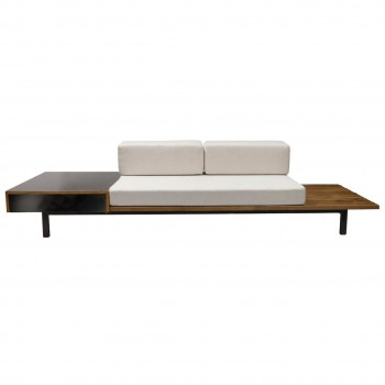 "Charlotte Perriand Bench ""Cansado"" Steph Simon Edition, Circa 1950, France."
