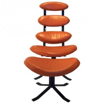 """Poul Volther (1923-2001) Armchair """"Corona"""" E15, Circa 1960, Denmark."""