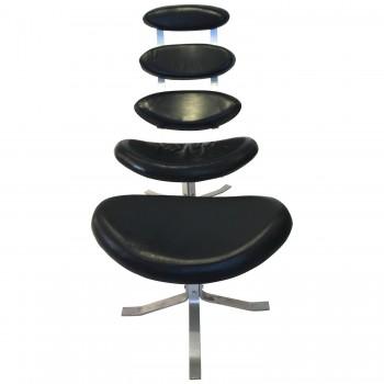 """Poul Volther (1923-2001), Armchair """"Corona"""" E15, circa 1960, Denmark."""