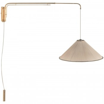Gino Sarfatti (1912-1985), wall light, Edition Arteluce Circa 1948, Italy.