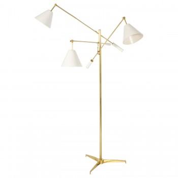 """Angelo Lelli, Floor Lamp, Model """"12128"""" Triennale, Production Arredoluce."""