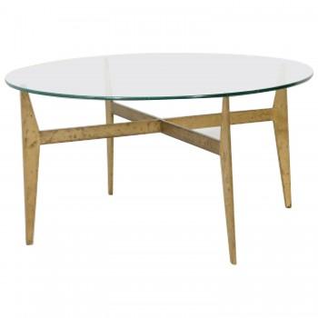 Gio Ponti Coffee Table, Production Fontana Arte, Circa 1970, Italy.