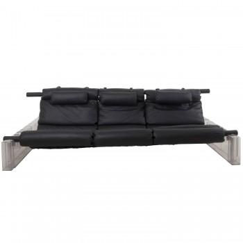 """Vittorio Mazzucconi, """"positv"""" sofa, manufactured by ICF DE PADOVA, 1971. Circa 1971,"""