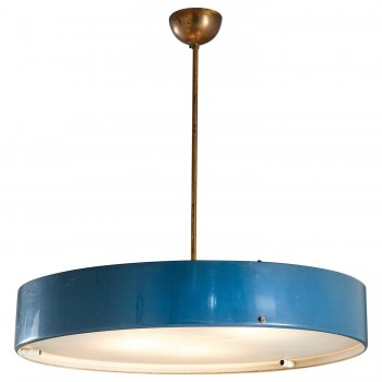 Bruno Gatta designer, Stilnovo manufacturer, Suspension, circa 1960, Italy.