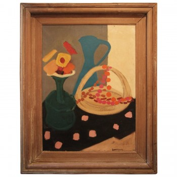 G. Wetzel, Oil on canvas, Signed, circa 1940, France