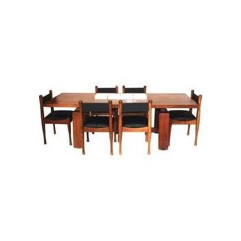 Silvio Coppola, Dining Room Table, Bernini Edition, Italy, Circa 1960.
