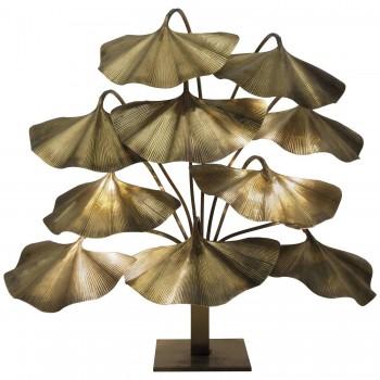 Tommaso Barbi, Floor Lamp, Polished Brass, Circa 1970, Italy.