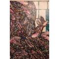 Patrick Danion, Painting, Acrylic on wood, Signed, 1988, France.