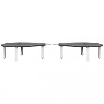 """Pierpaolo Calzolari, """"Laguna"""" Table, Two Elements, Circa 1980, Italy."""