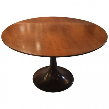 "Luigi Massoni, Room Table Dining ""Clessidra"", Mobilia Manufacture, 1959, Italy."